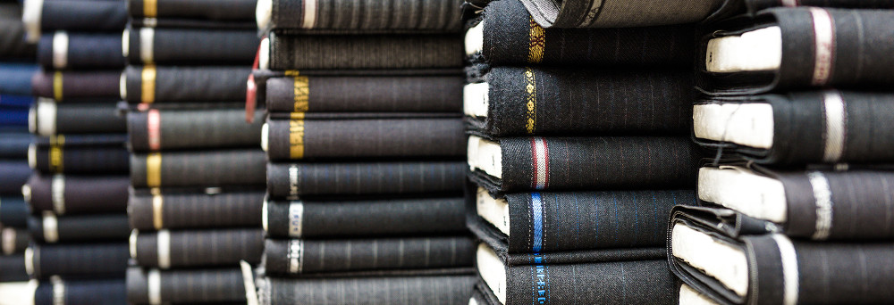 Select your cloth for your made to measure suit